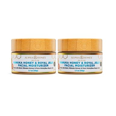 2 Jar Mix & Match Fragrance: Royal Manuka Lightweight Serum Moisturizer
