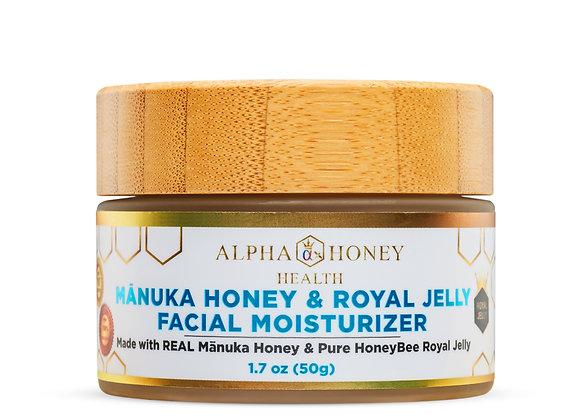 Royal Jelly & Manuka Honey  Face Moisturizer