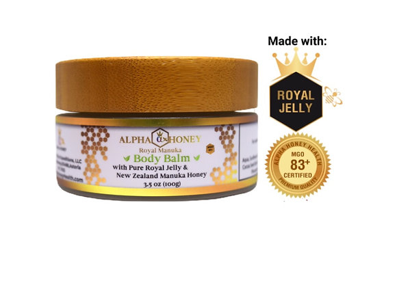 Royal Jelly & Manuka Honey Deep Moisturizing Body Balm