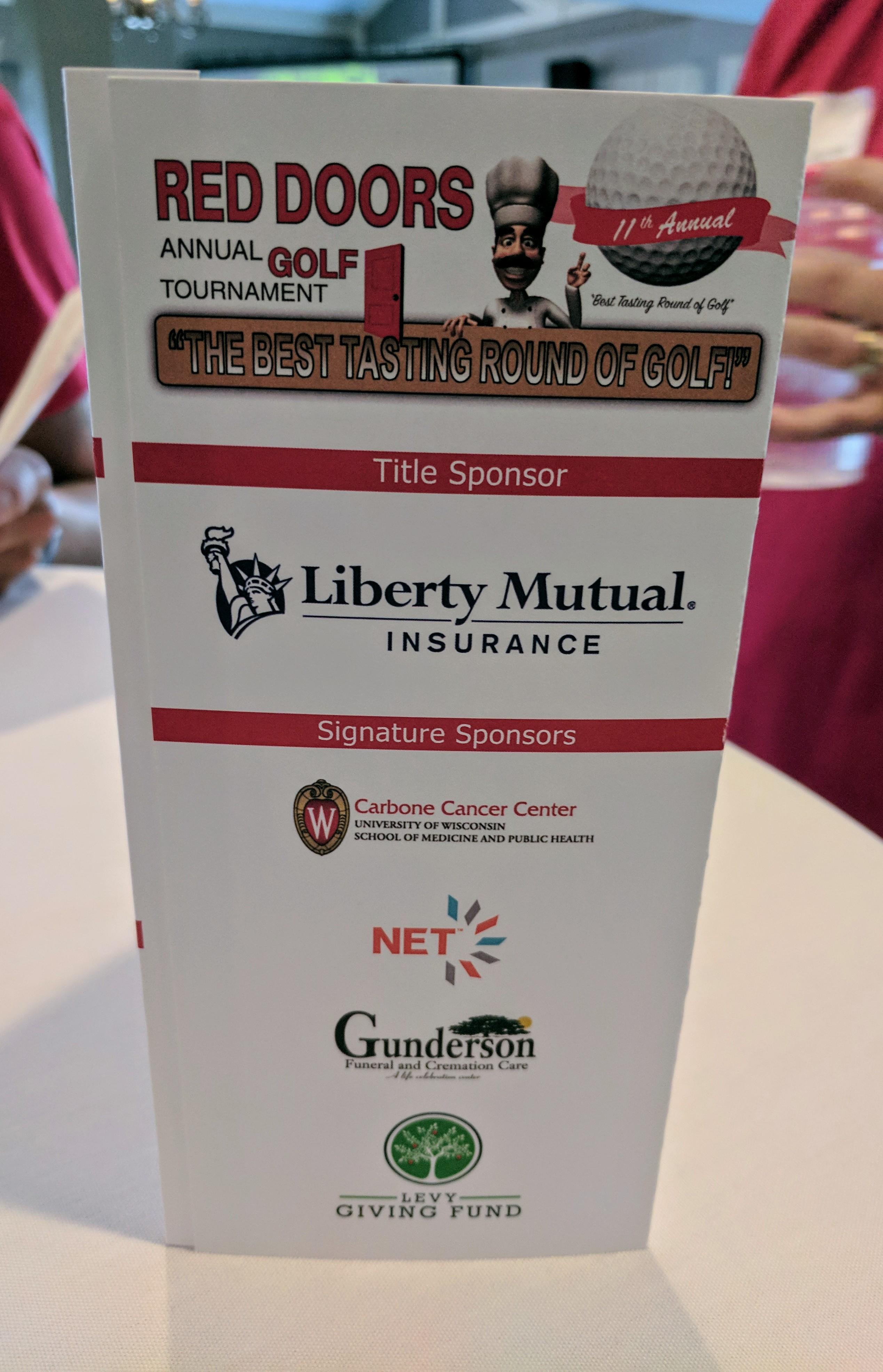 Gilda's Golf Sponsorship 2017