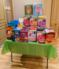 MOMs 2017 Cereal Drive