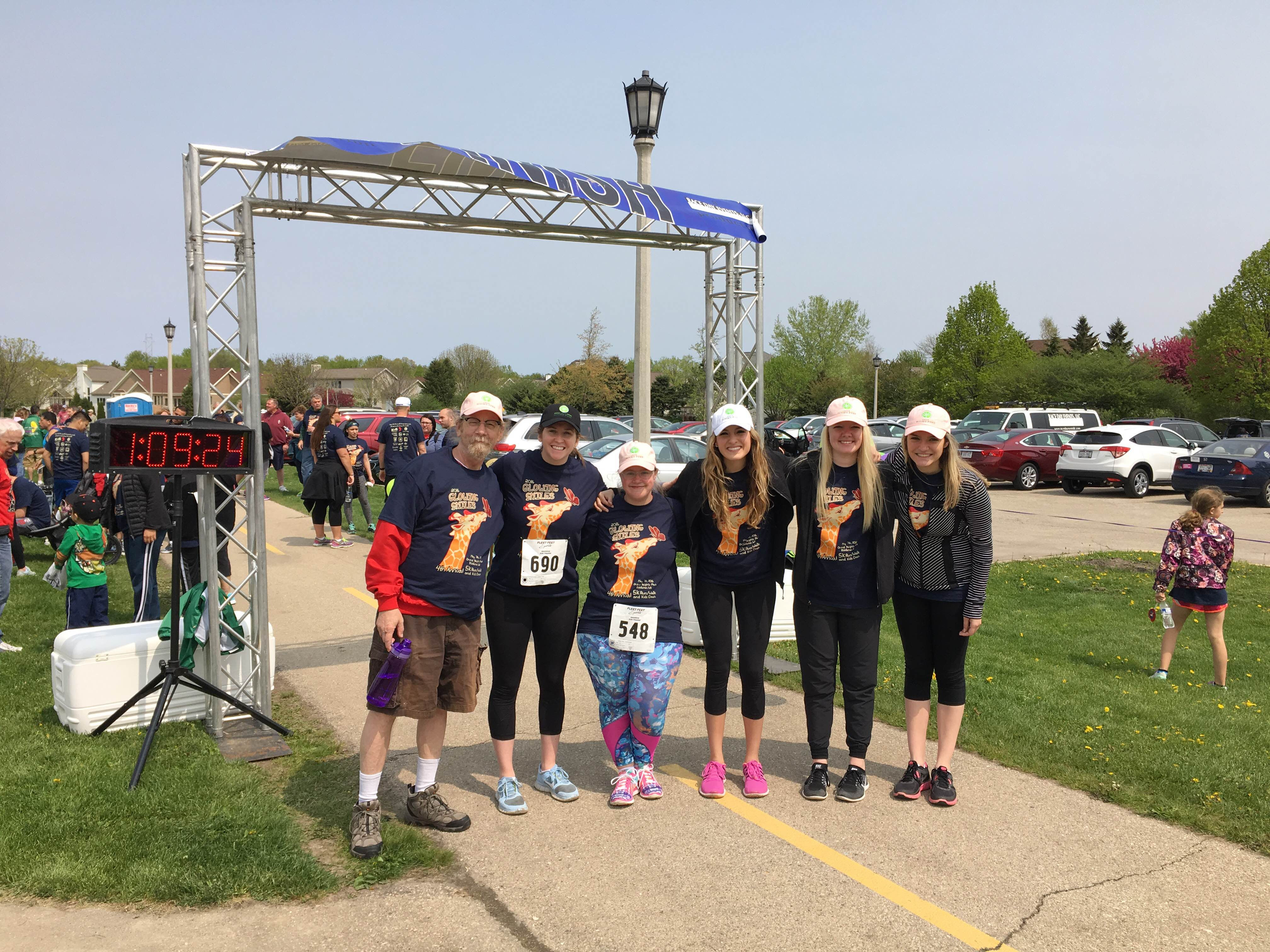 Glowing Smiles 5K 2016
