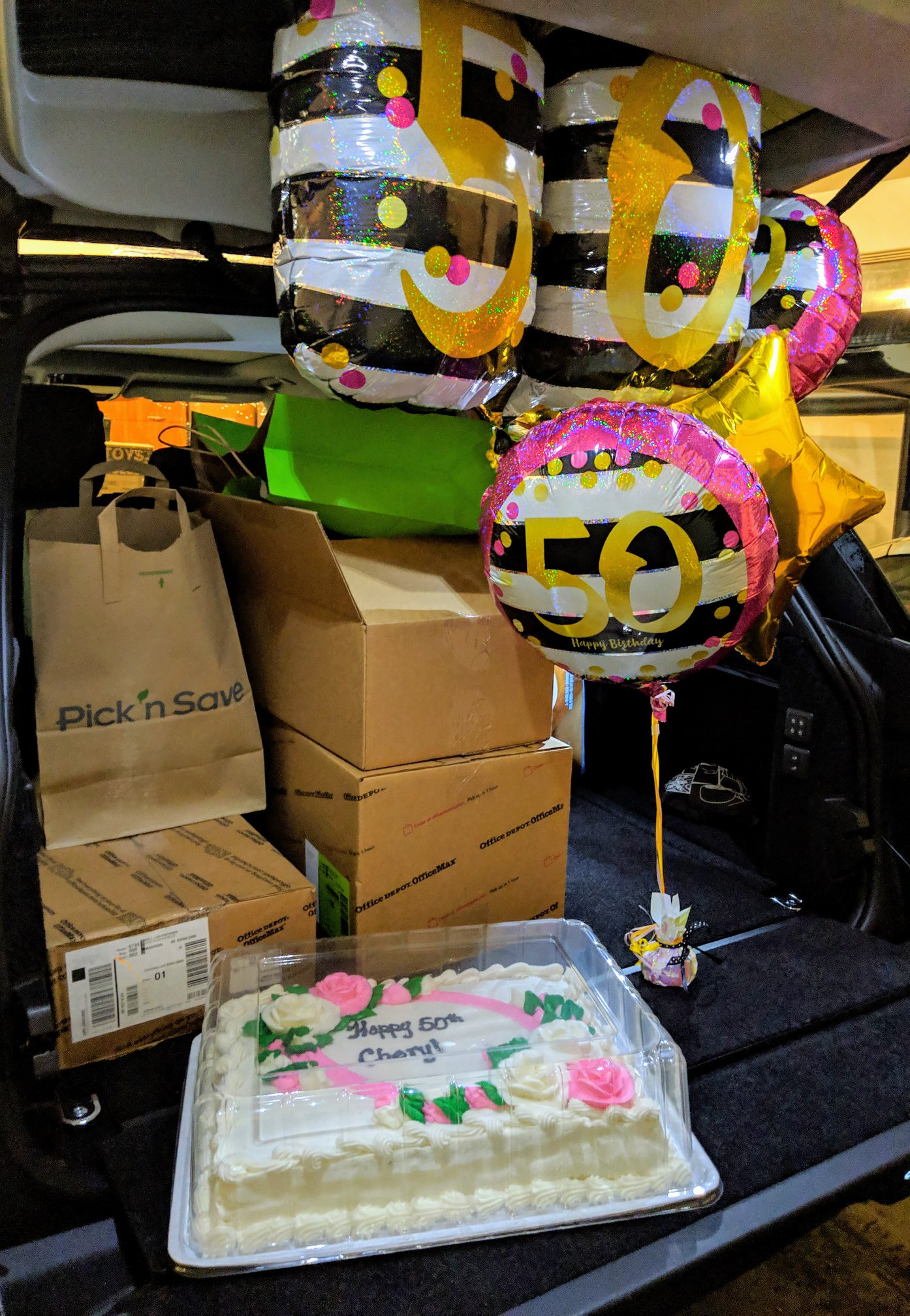 Cheryl's Birthday Donation 2019