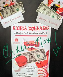 Santa Dollar Fundraiser 2020