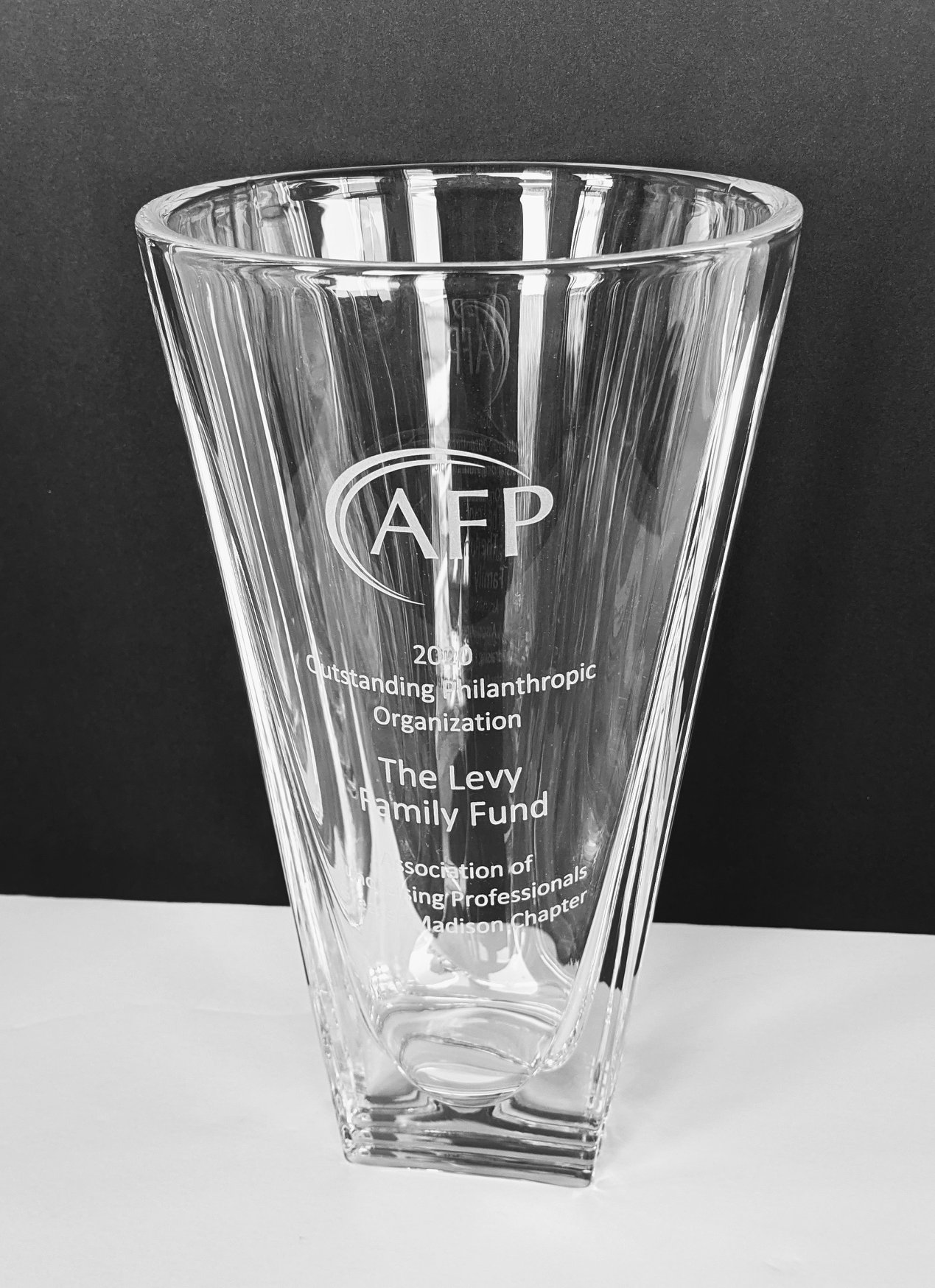 Association of Fundraising Professionals Award 2020