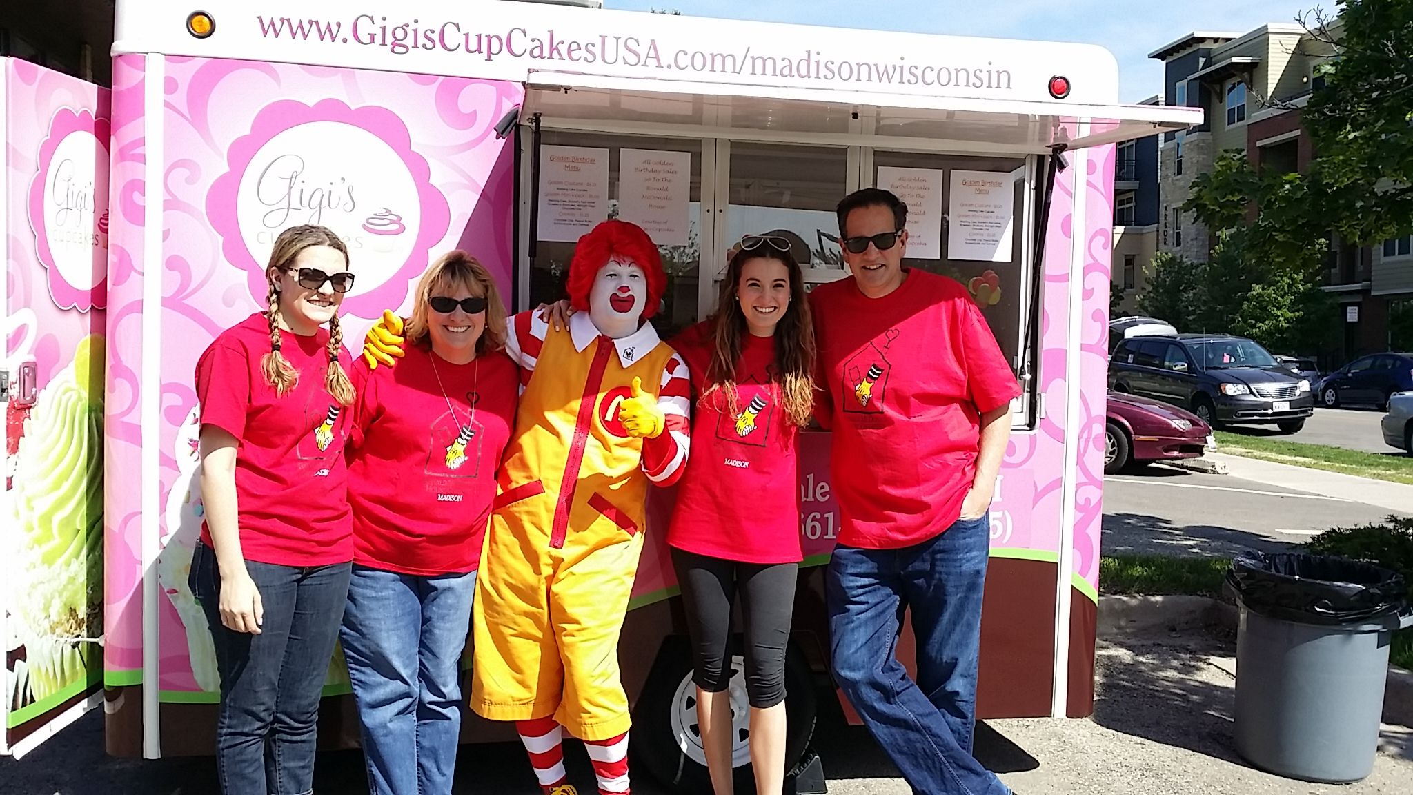 Ronald McDonald Golden Day 2015