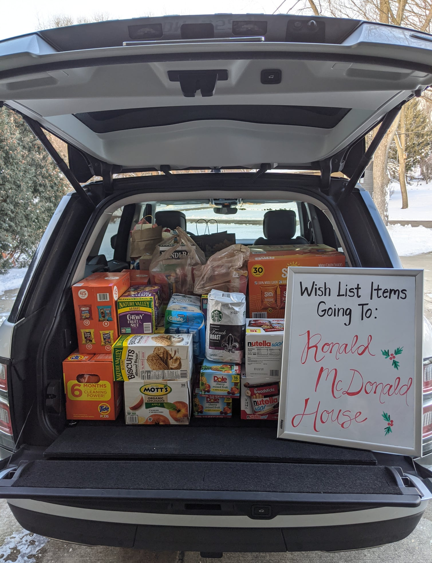Holiday Snack Drop Off 2020