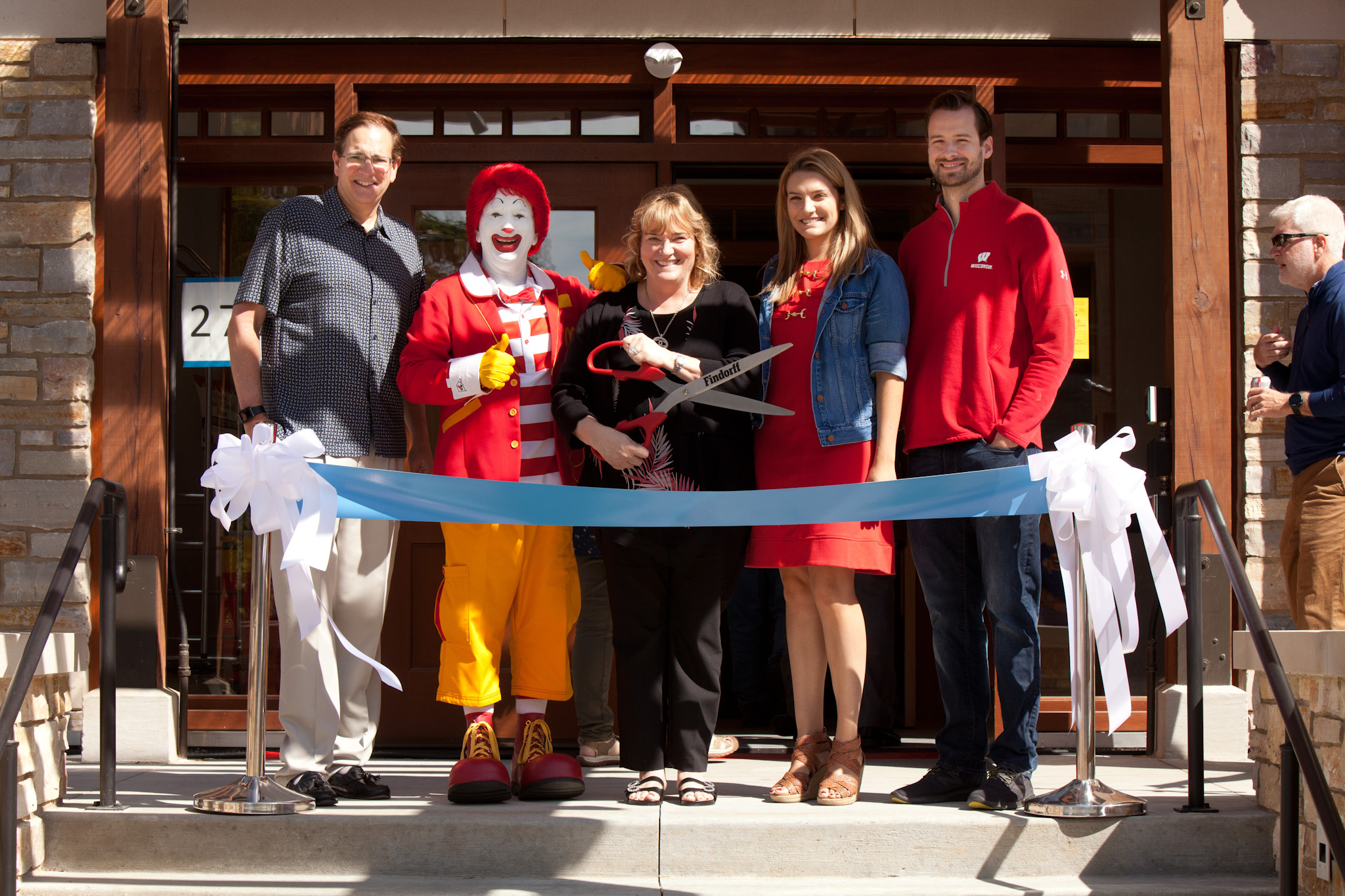 New House Ribbon Cutting Ceremony