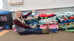 Jenna's Fleece Tie Blankets