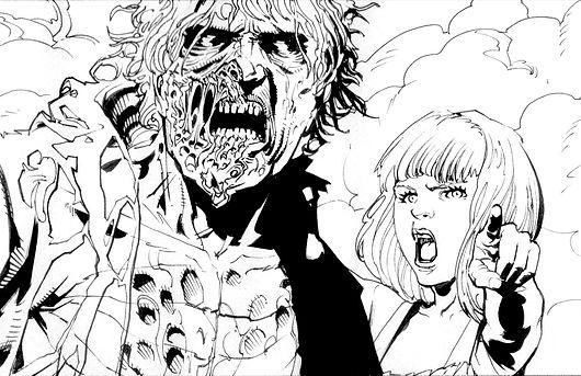 Zombie Zero Artist Leandro Rizzo