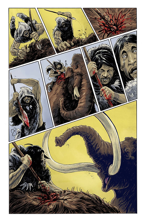 The First Americans Comic Book