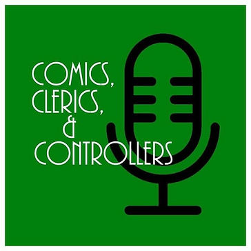 comics clerics and controllers interview Christopher Reda review