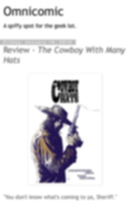 The Cowboy with Many Hats Review Interview Comic Book Short