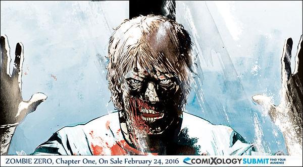 Zombie Zero Digital Comic comixology