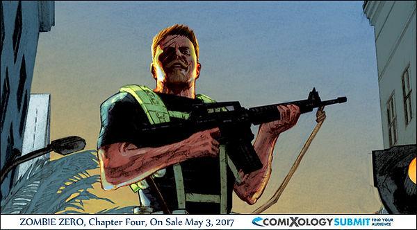 Zombie Zero 4 Digital Comic comixology