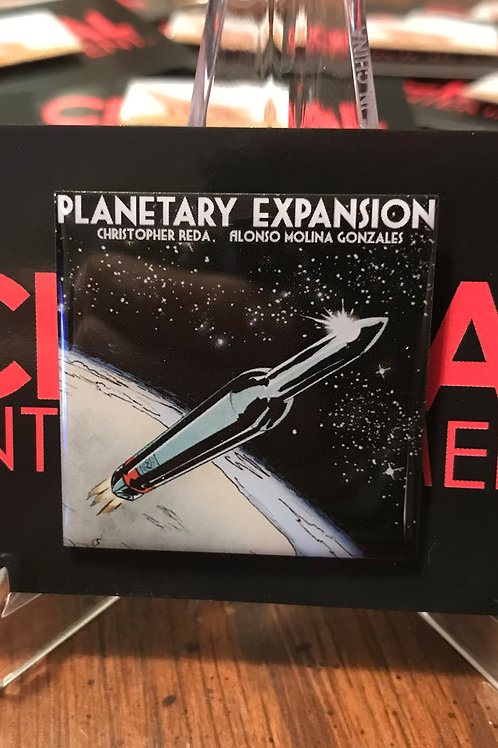 Planetary Expansion Collectible Pin