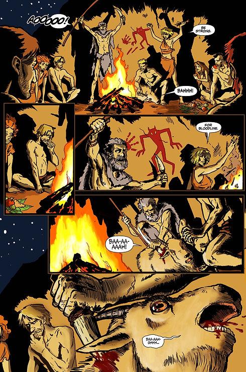 Warrior Spirit Comic Book