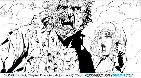 Zombie Zero 5 Digital Comic comixology