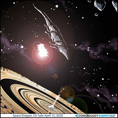 Space Dragon Comixology Digital Comic Book