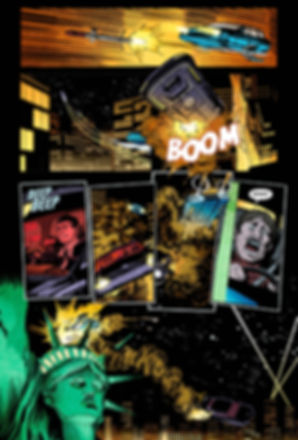 Planetary Expansion Comic Book