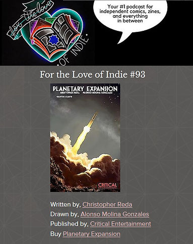 FTL of Indie Planetary Expansion Review Comic Book Comics