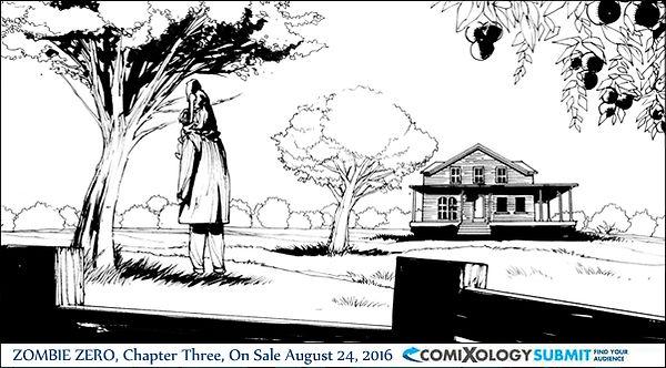 Zombie Zero 3 Digital Comic comixology