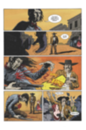 The Cowboy with Many Hats Comic Book