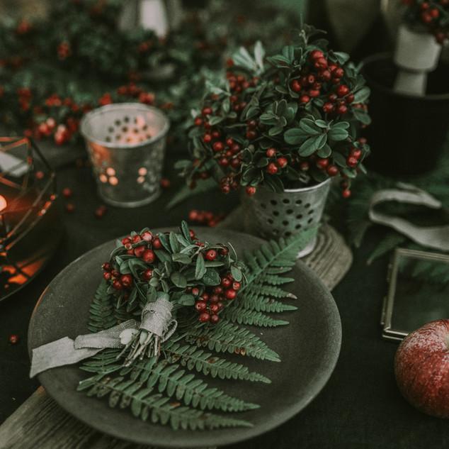 Weihnachts Tischdeko