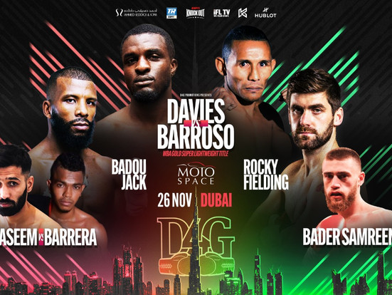 FORMER WORLD CHAMPIONS TO STAR ON D4G PROMOTIONS EVENT