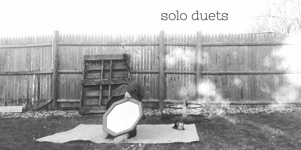 SOLO DUETS // A Collaboration