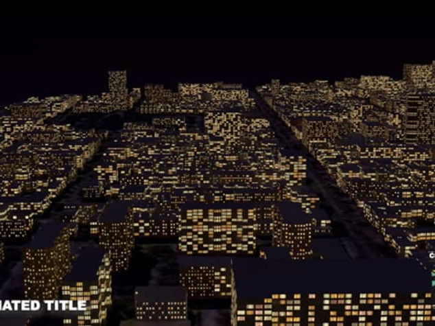 3D City Logo Animation