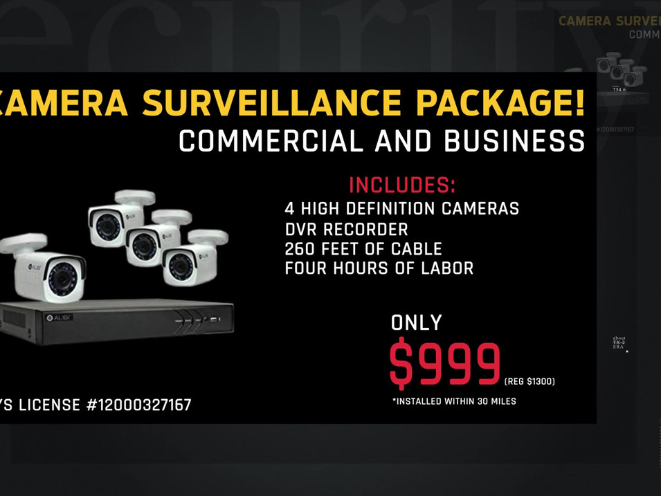 Big Apple Commercial and Business Security Spot