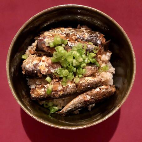 Sardine Donburi