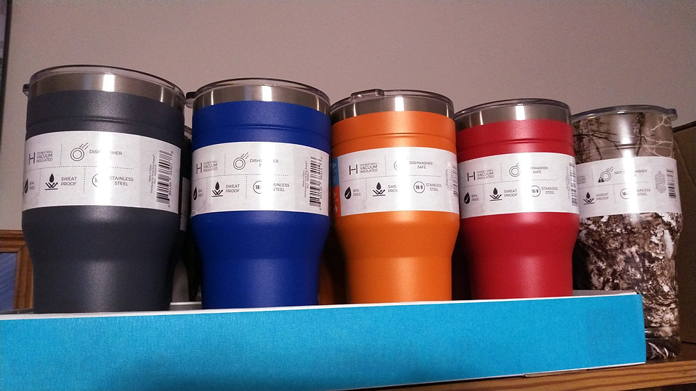 30oz. double insulated tumbler