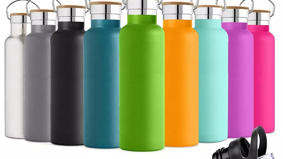 500ml double insulated, powder coated water bottle