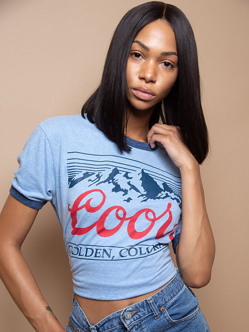 Coors Ringer Tee