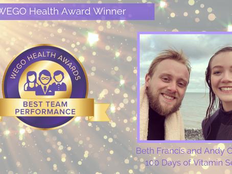 WEGO Health Awards 2018