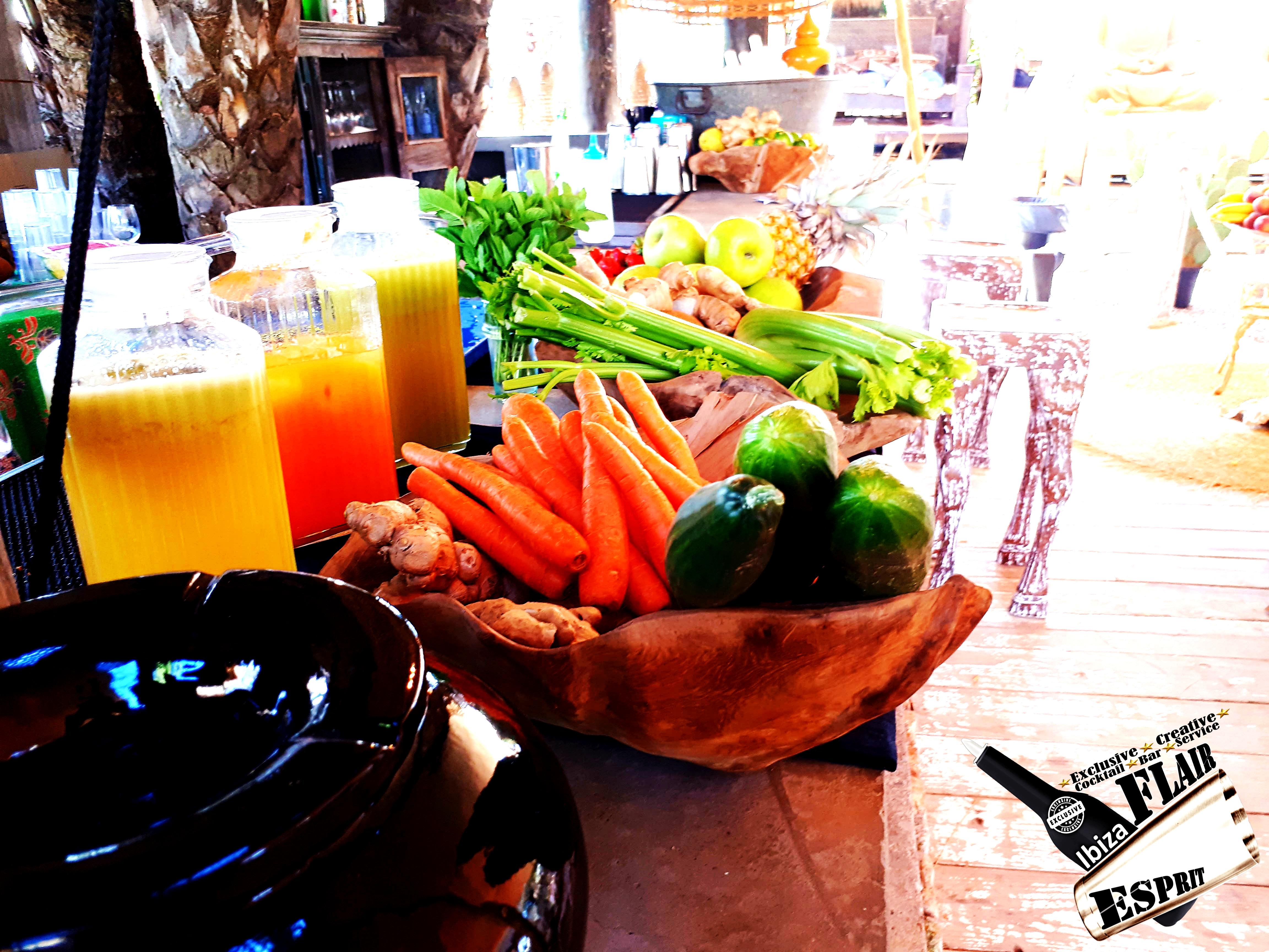 Catering Ibiza, Open bar service, pr
