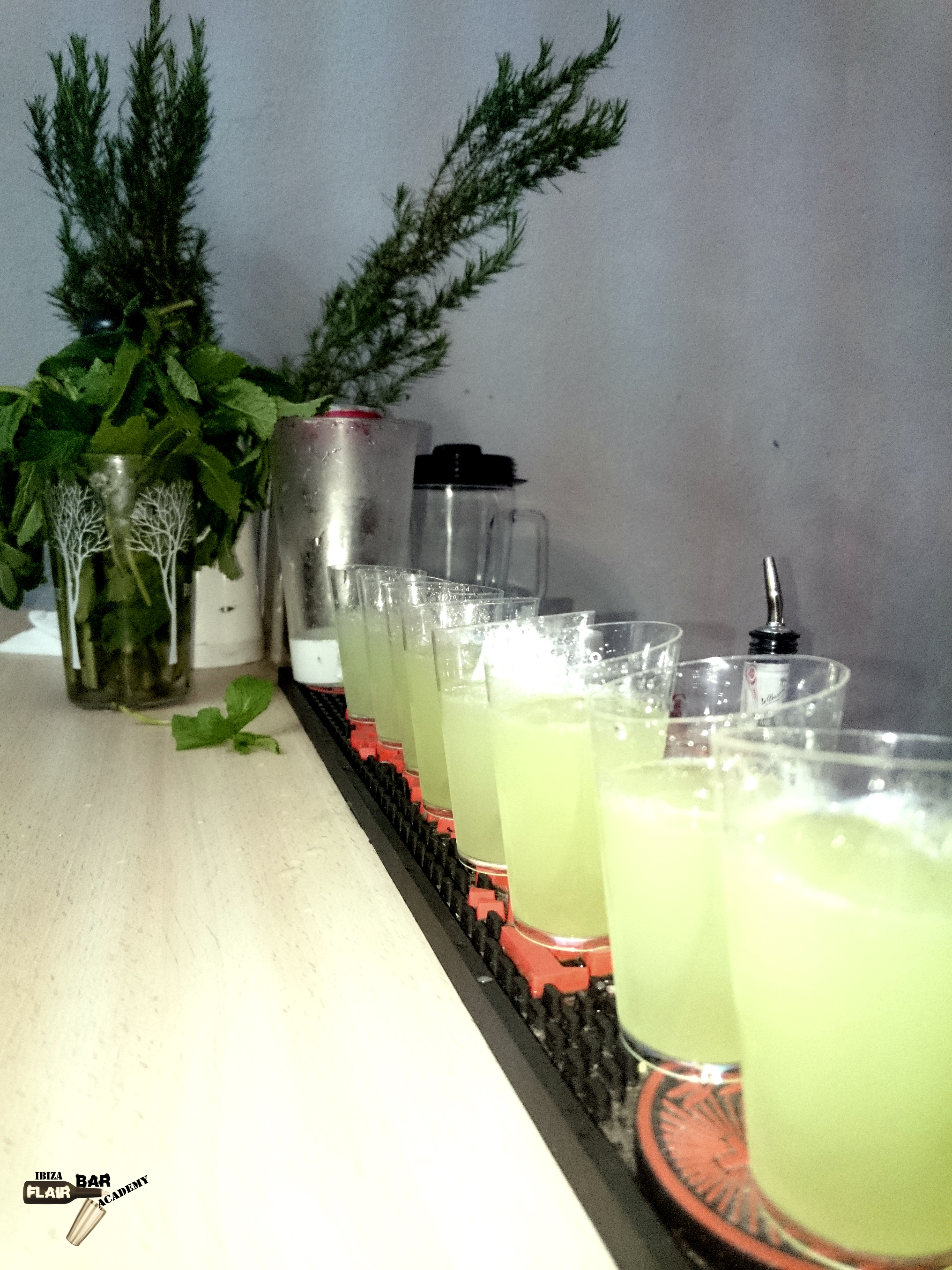 Curso de barman en Ibiza, bartender school cocktail bar service Ibiza