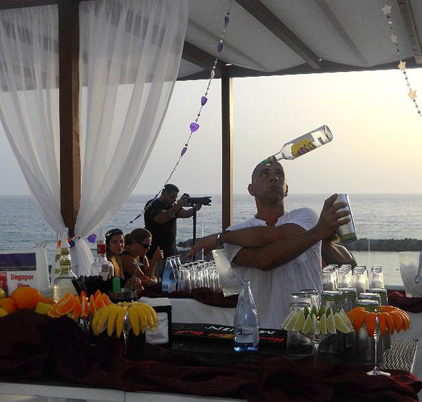 Cocktail Bar catering in Ibiza, bar service in Ibiza and Formentera
