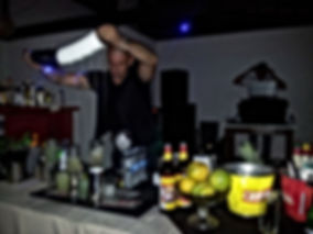 Cocktail Bar catering in Ibiza, barman service in Ibiza Formentera
