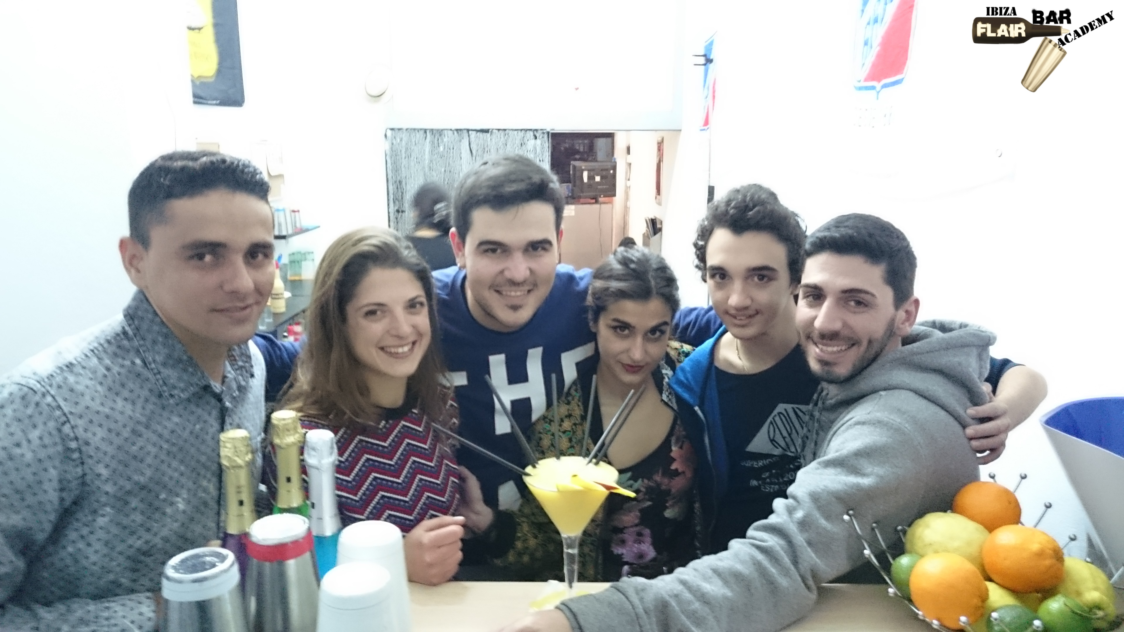 Curso de Cocteleria en Ibiza, Escuel