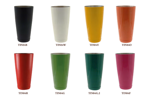 Vaso Boston U.S.A  Mix in tin 84 cl. color