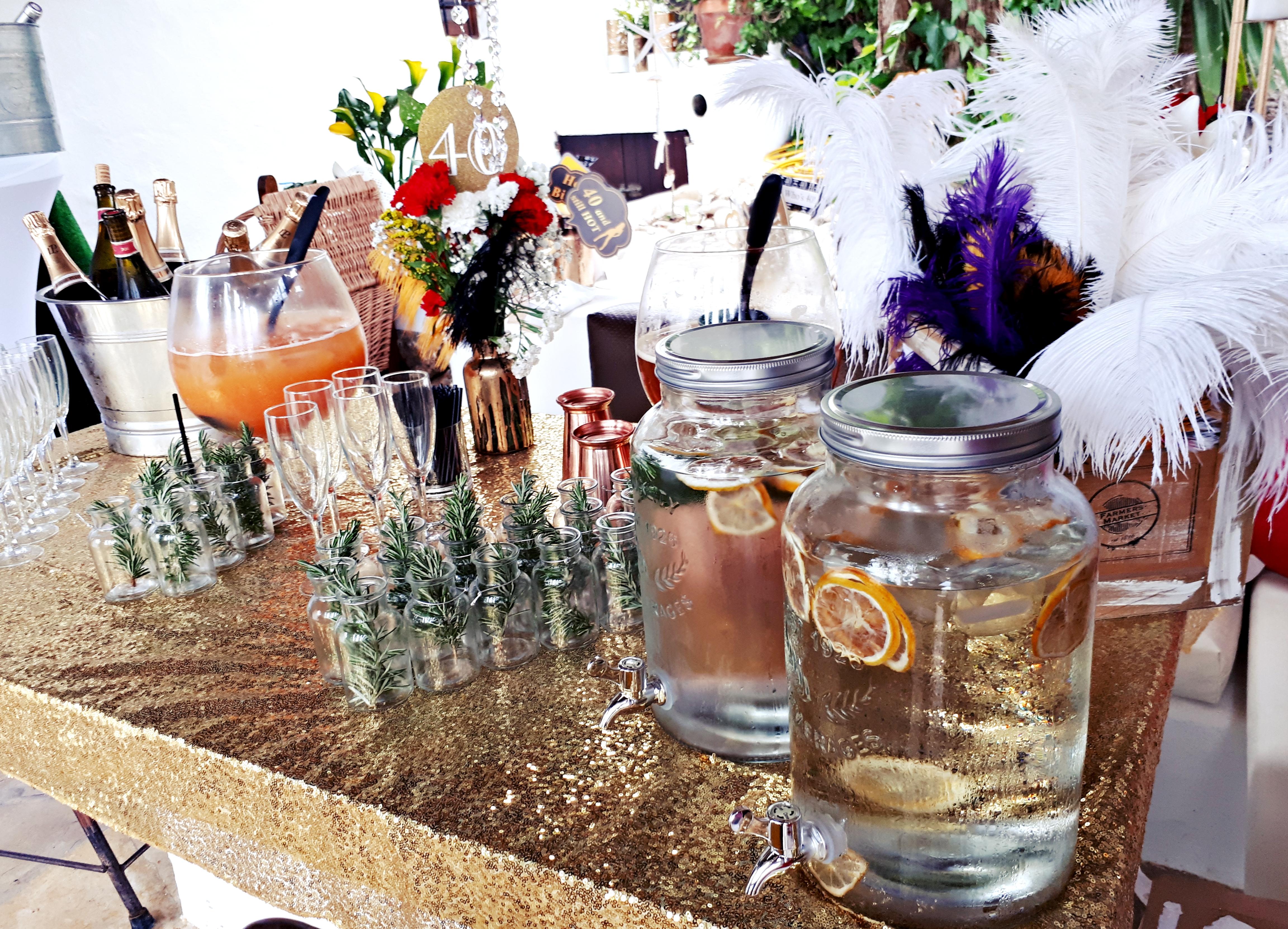Catering Ibiza, Open bar service, private services in Ibiza Formentera, freelance bartenders, mobile