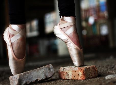 Balance is a beautiful dance...