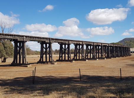 Bridge in troubled waters