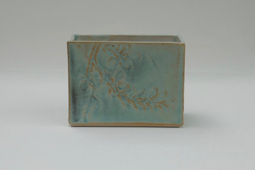 Rectangular open topped box (7.5cm x 8.5cm x 11cm)