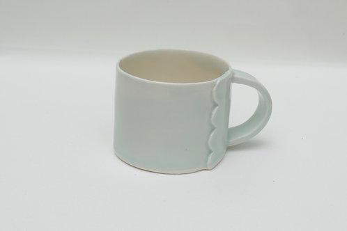 Porcelain mug 150mls