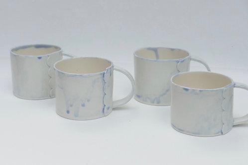 Porcelain mugs 200mls