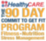 HealthyCare 90 Day Commit to get Fit log